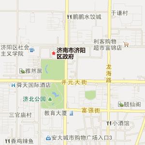济南市城市总体规划图市域城镇空间结构规划图