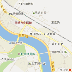承德双桥电子地图_双桥在线旅