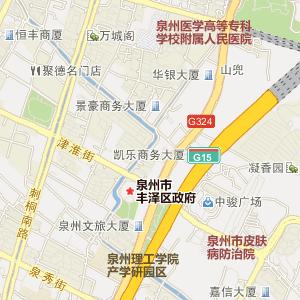 福建省泉州市电子地图