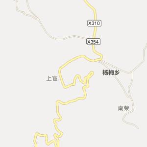 福建泉州德化县杨梅乡行政区划