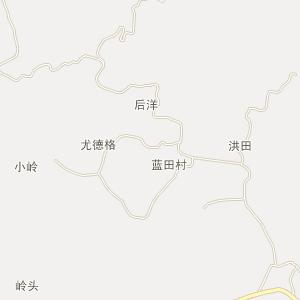 德化县-葛坑镇卫星地图