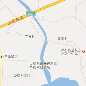 江山市中山路地图
