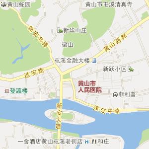 安徽黄山电子地图_中国电子地图网