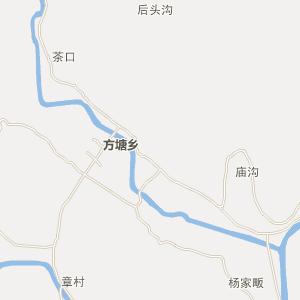 宁国方塘电子地图_方塘在线高清公路地图查询