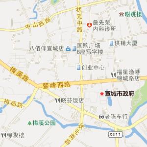 安徽宣城电子地图_中国电子地图网