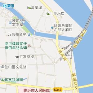 临沂河东电子地图_中国电子地图网