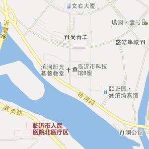 临沂河东电子地图