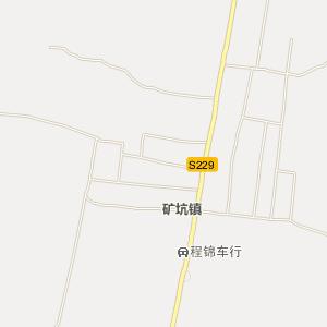 费县行政区划地图