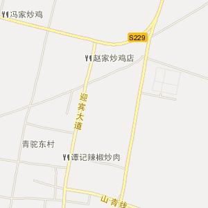 沂南县青驼镇电子地图
