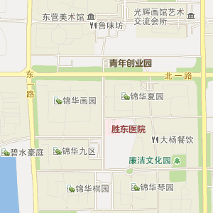 = 东营区胜利街道电子地图 =