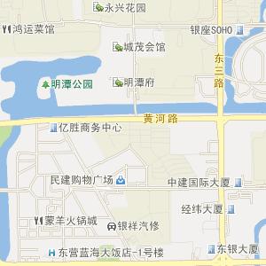 山东省东营市电子地图
