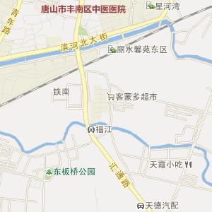 唐山市丰南区电子地图