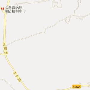唐山迁西电子地图_迁西铁路地图