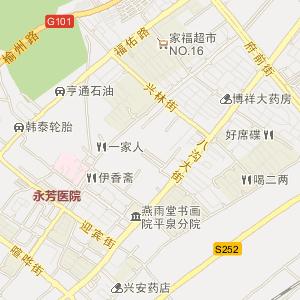 平泉县平泉镇电子地图