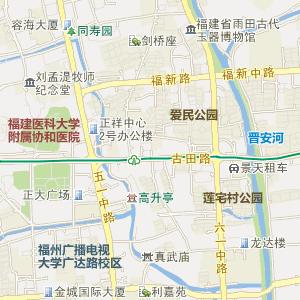 福建福州电子地图_中国电子地图网
