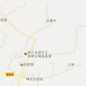 浙江电子地图 金华电子地图