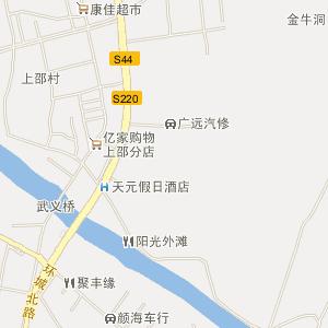 浙江武义白洋街道实景图-旅游风景区地图