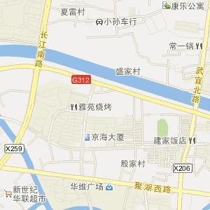 江苏省电子地图 常州市电子地图