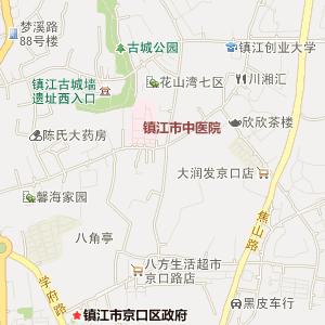 江苏镇江电子地图_中国电子地图网