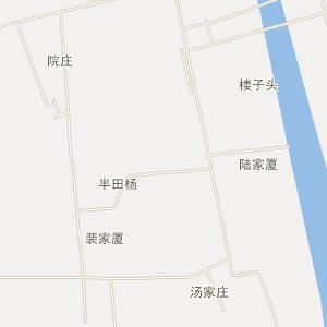 高邮市-三垛镇交通地图