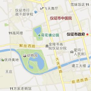 扬州仪征电子地图_中国电子地图网