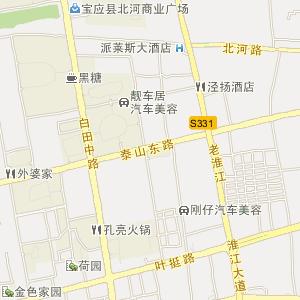 扬州宝应电子地图_中国电子地图网