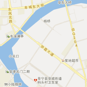 盐城阜宁电子地图_中国电子地图网