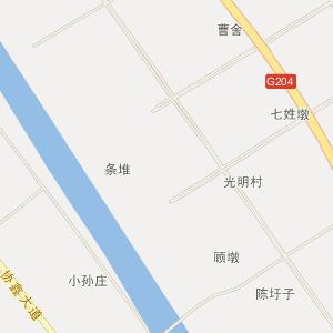 江苏电子地图 盐城电子地图