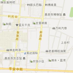 都昌街道卫星地图 都昌街道地图
