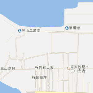莱州三山岛电子地图_中国电子地图网
