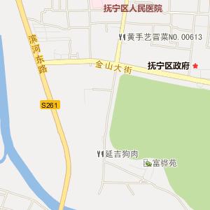抚宁县抚宁镇电子地图图片