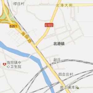 白塔岭电子地图 珠江道电子地图