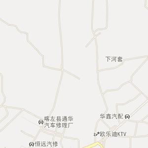 朝阳市喀喇沁县电子地图