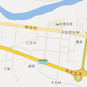 嵊州市黄泽镇电子地图