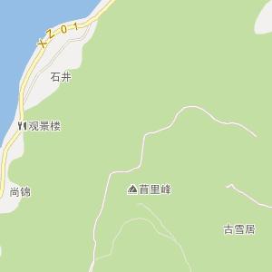 北京西山昌华园地图