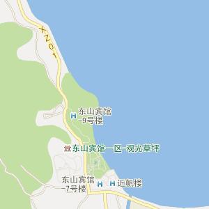 湛江西营手绘地图