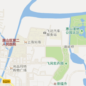 无锡惠山长安地图