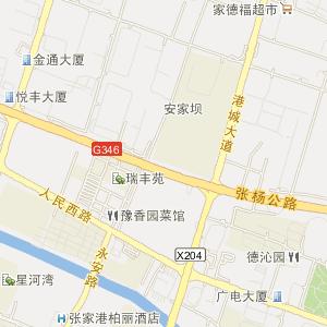 苏州张家港电子地图_中国电子地图网