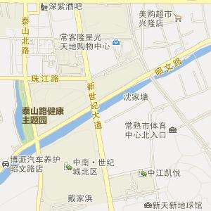 苏州常熟电子地图_中国电子地图网