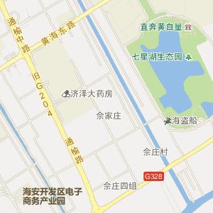 海安老坝港地图