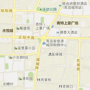 青岛市城阳区电子地图