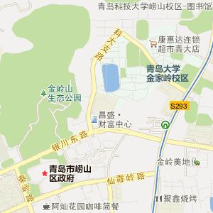 青岛市电子地图 > 崂山区电子