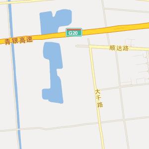 青岛即墨蓝村地图