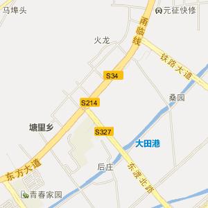 临海大田高清电子地图