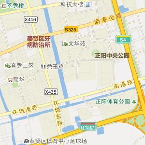 奉贤南桥电子地图_中国电子地图网