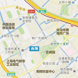 嘉定南翔电子地图_中国电子地图网