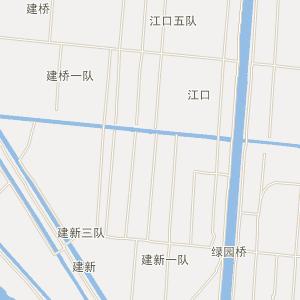 崇明绿华电子地图_中国电子地图网