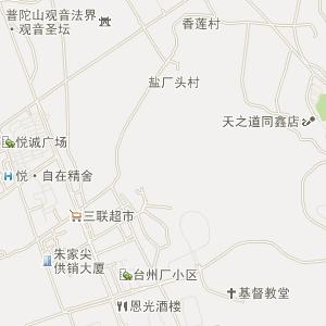 浙江省电子地图 舟山市电子地图
