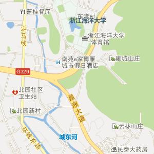 普陀电子地图