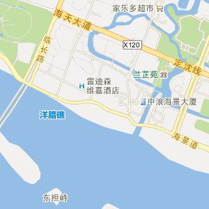 舟山市电子地图 定海区电子地图